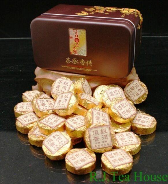 2008*Pu-erh*Yi Heng Xiang Gold Mini Cooked Pu-erh Tea cake-200g/Can Free Ship!!!