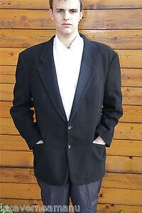 manteau-noir-3-4-en-cachemire-HUGO-BOSS-taille-54-TBE-modele-homme