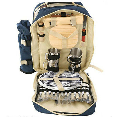 Outdoor Camping Backpack Picnic Bag Basket Gear Birthday Gift Mom Dad Friend