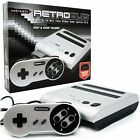 Retro-Bit Retro Entertainment System Silver & Black Console