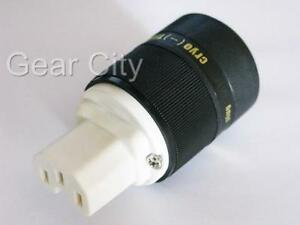 IEC-Mains-Power-Plug-Female-Connector-Gold-Conductor-Cable-Cord-Hi-Fi-PPL50