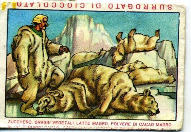 FERRERO Montriol figurina n.14 serie IL BARONE di MUNCHAUSEN >>  vedi