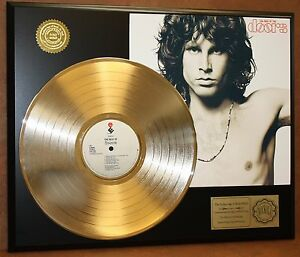 DOORS-JIM-MORRISON-GOLD-LP-LTD-EDITION-RECORD-DISPLAY-AWARD-QUALITY-COLLECTIBLE