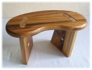 banc si ge de m ditation yoga pour le voyage acacias ebay. Black Bedroom Furniture Sets. Home Design Ideas