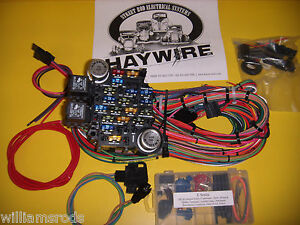 e series haywire wiring harness street rod rat rod parts. Black Bedroom Furniture Sets. Home Design Ideas