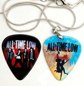 All-Time-Low-Silver-Guitar-Pick-Necklace-Pick