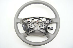 toyota camry 2002 2004 grey leather steering wheel with controls ebay. Black Bedroom Furniture Sets. Home Design Ideas