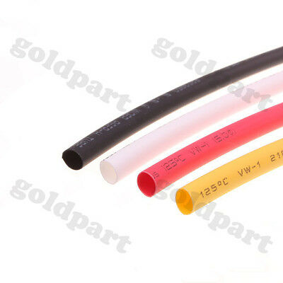 5mm Four Colors Heat Shrinkable Tube Shrink Tubing 1m