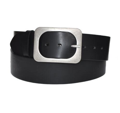 VOLL Leder Guertel Belt 5cm Breit  SCHWARZ oder BRAUN Länge Wählbar 80 bis 150cm