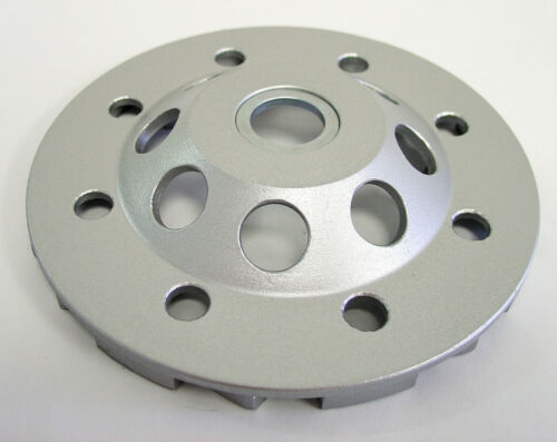 "4.5"" Turbo Diamond Cup Wheel for Concrete Stone Masonry Grinding 7//8""-5//8/"" Arbor"