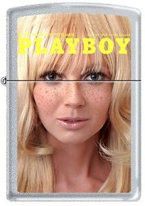 Zippo Playboy August 1969 Cover Satin Chrome Windproof Lighter NEW RARE