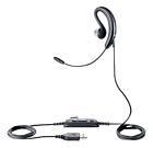 Jabra UC Voice 250 MS Black Ear-Hook Headsets