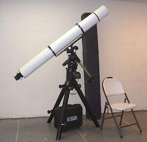 Astrophysics-6-034-f12-Superplanetary-refractor-on-Losmandy-Celestron-G11-mount