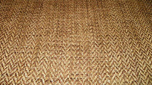 Brown-Gold-Herringbone-Chenille-Upholstery-Fabric-1-Yard-R694