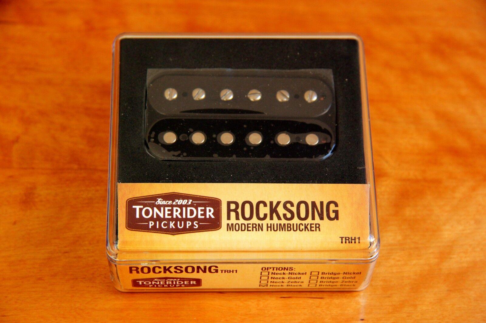 Alnico II slashsound handwound Rock Song Neck PU Tonerider trh1 8k nero Rock PAF