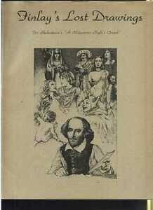 1975 Virgil Finlay's Lost Drawing portfolio 25 plates Shakespeare MBX85