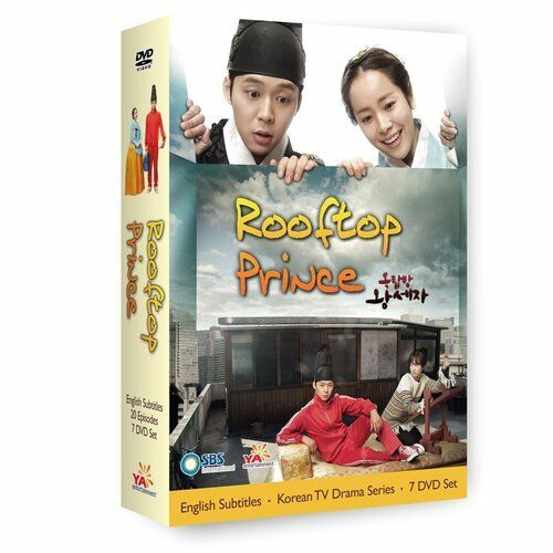 Rooftop Prince Korean Tv Drama Dvd Excellent English Sub US Version by YA