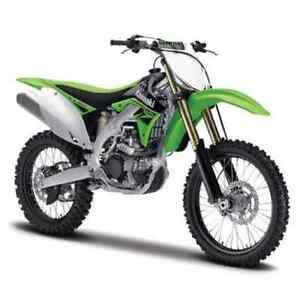 BURAGO-1-18-MOTO-KAWASAKI-KX-450F-enduro-verte-et-noire