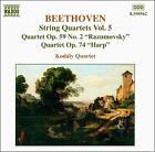 Ludwig van Beethoven - Beethoven: String Quartets, Vol.5 (1999)