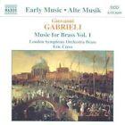 Giovanni Gabrieli - : Music for Brass, Vol. 1 (1997)