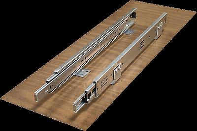 Rollout shelf, pullout shelf, full extension ball bearing drawer slides