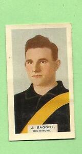 1930-VICTORIAN-FOOTBALLERS-CARD-BDV-CIGARETTES-11-J-BAGGOT-RICHMOND
