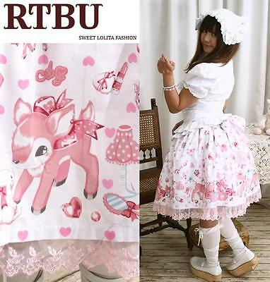 Sweet Lolita Fantasy Bambi Rabbit Beauty Vanity Skirt