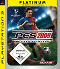 Pro Evolution Soccer 2009 -- Platinum (Sony PlayStation 3, 2009)