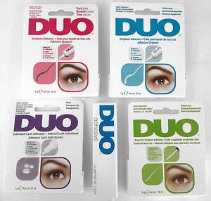 DUO-EYELASH-LASH-GLUE-ADHESIVE-CLEAR-OR-DARK-7g-0-25oz-FREE-UK-1ST-CLASS-P-amp-P