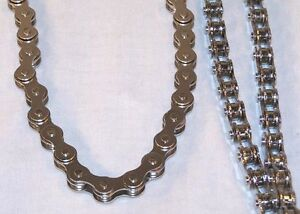 mens bike chain necklace 18 inch chains biker fashion. Black Bedroom Furniture Sets. Home Design Ideas
