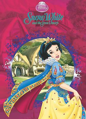 """AS NEW"" Parragon Books, Disney Die Cut Classic Storybooks: Snow White (Princess"