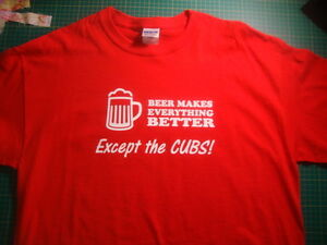 St-Louis-Cardinals-Chicago-Cubs-Funny-T-Shirt-Tee-Humor-Baseball-STL-BRAND-NEW