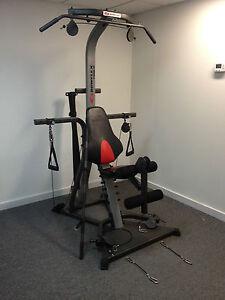 Bowflex xtreme se lat squat legs arms chest home gym extreme