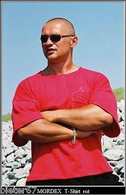 rotes T-Shirt BW Bodybuildingshirt Gym Sportshirt Freizeit Fitness von MORDEX