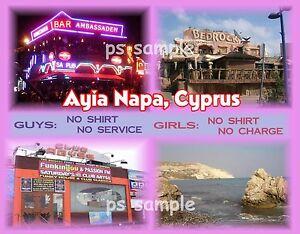 Cyprus-AYIA-NAPA-Travel-Souvenir-Fridge-Magnet