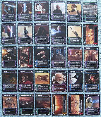 Star Wars TCG Sith Rising Rare Cards (SR)