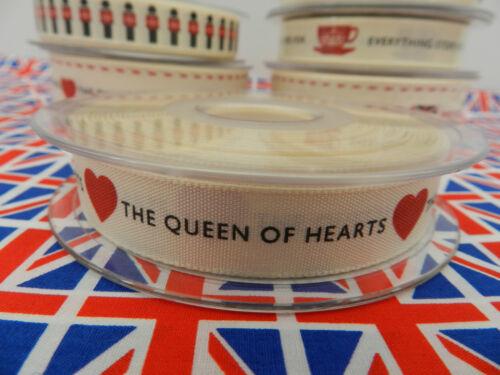 Berisfords Britanniques Celebration rubans vendu par mètre
