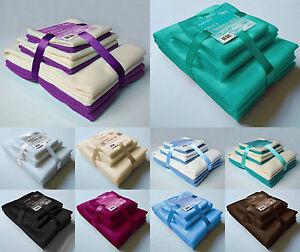 New-Microfibre-Travel-Sports-Gym-Towel-Bale-Set-6-Pieces-Hand-Bath-Towels-Gift