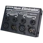 Ebtech HE 2 XLR Hum Eliminator 2 Channel Box with XLR Jacks (614859201039)