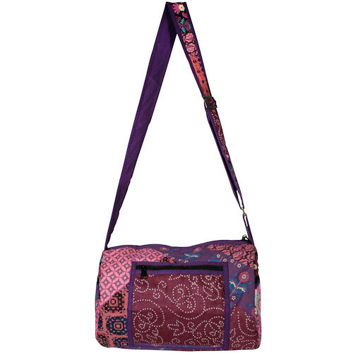 Patchwork Shoulder Bags Handmade in India | Fair Trade | Recycled Materials
