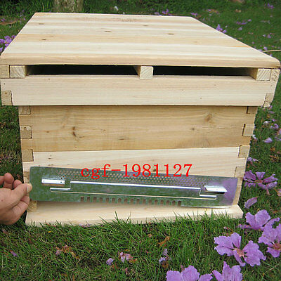 2Pcs Bee Hive Sliding Mouse Guard Travel Gate Beekeeping Equipment