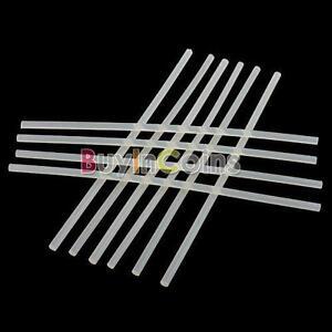 10-x-Translucence-Hot-Melt-Glue-Adhesive-Stick-28cm-7mm-SA