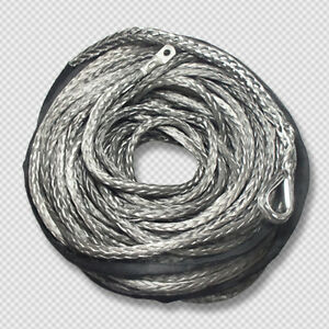 10mm-x-30m-Grey-DYNEEMA-SK-75-SYNTHETIC-WINCH-ROPE-CABLE-UHMWPE-9-5T-4x4-4WD-ATV