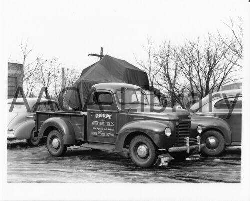 Ref. #48568 Factory Photo 1941-1946 International Harvester K1 Pickup Truck