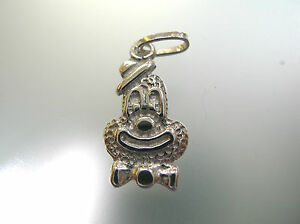 Wearing-a-hat-smiling-clown-charm-pendant-Italian-sterling-silver-handmade