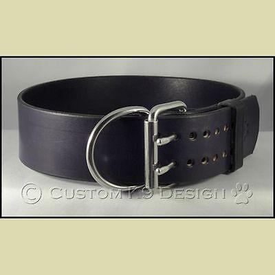 "Pro Paw  2"" Bridle Leather Dog Collar  Pitbull,Mastiff,Rottie Made In USA"