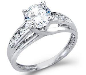 1-Carat-Certified-Diamond-14K-White-Gold-Engagement-Ring