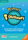 Primary i-Dictionary Level 1 CD-ROM (Home User) by Anna Wieczorek (CD-ROM, 2012)