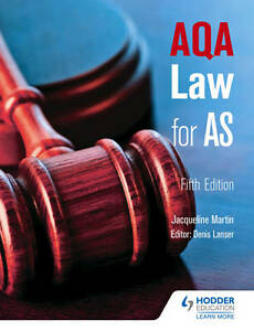 AQA Law for AS-ExLibrary