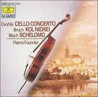 Dvorák: Cello Concerto; Bruch: Dol Nidrei; Bloch: Schelomo (1989)